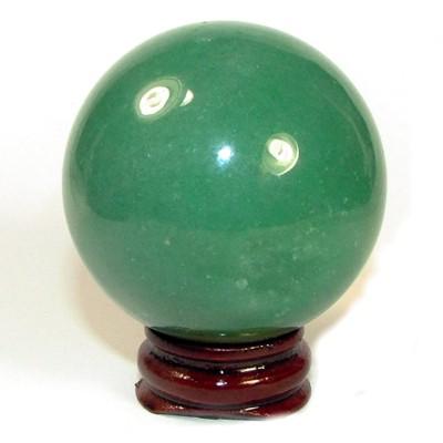 quả cầu đá ngọc xanh đông linh