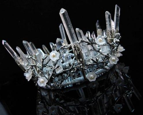 cấu trúc nguyên tử tinh thể đá quý