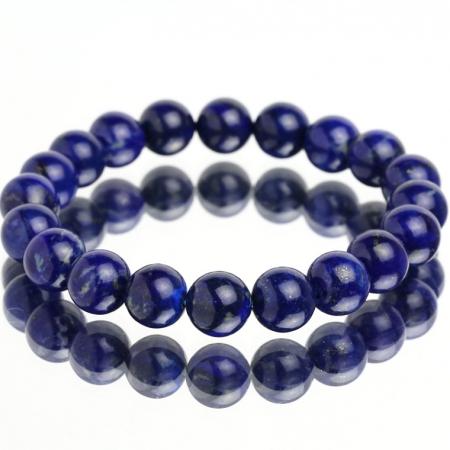 Vòng tay phong thủy đá lapis lazuli 10mm