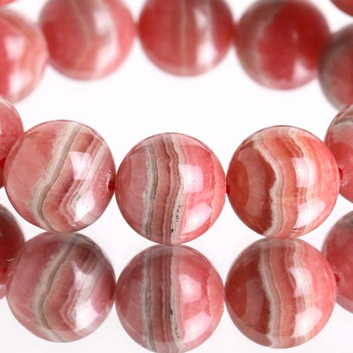 Vòng tay phong thủy đá rhodochrosite AA++