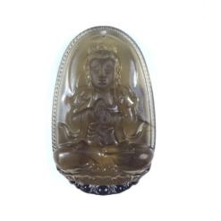 Phật bản mệnh Đại Nhật Như Lai đá thạch anh khói