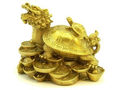 rùa đầu rồng phong thủy