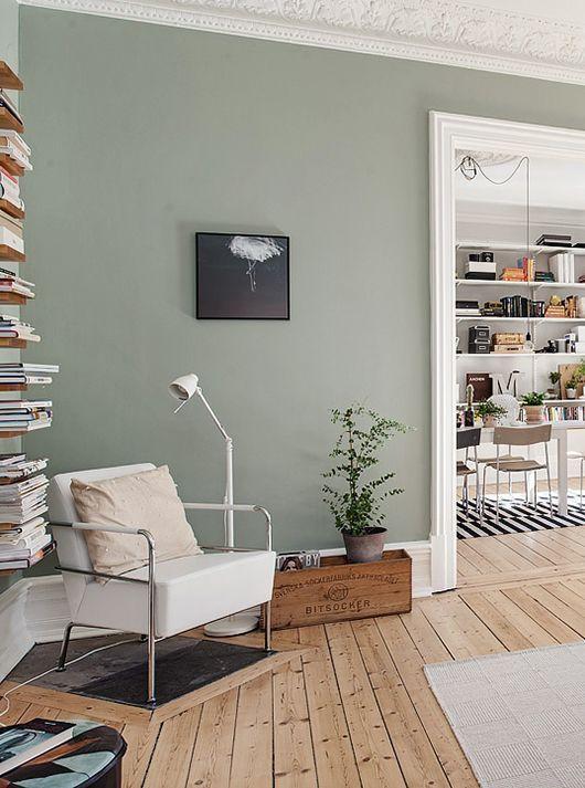 Màu sắc phòng đọc sách