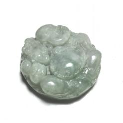 mặt dây chuyền Phật Di Lặc đá cẩm thạch