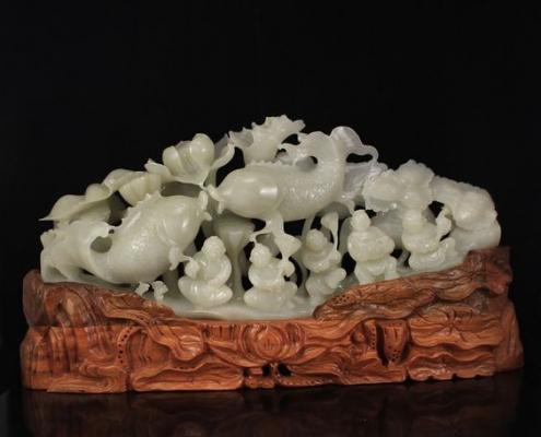 liên sinh quý tử - vật phẩm phong thủy mang lại may mắn sinh con