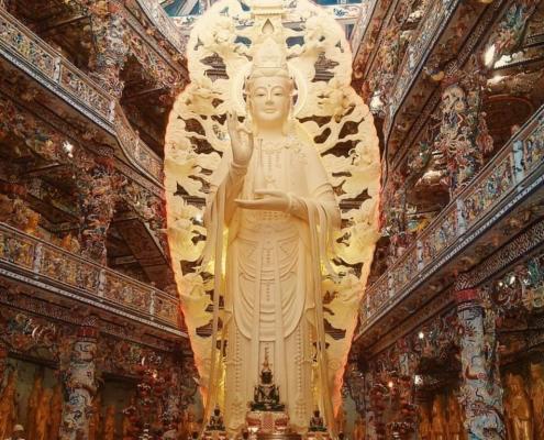 Văn khấn quan âm bồ tát, Quan Âm Bồ Tát chùa Linh Phước
