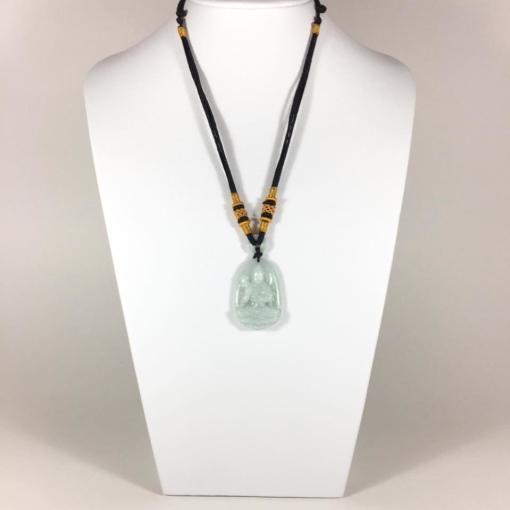 Mặt dây chuyền Đại Thế Chí Bồ tát đá cẩm thạch 1