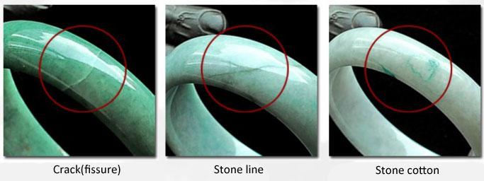 Những kiểu nứt vỡ thường gặp ở vòng cẩm thạch