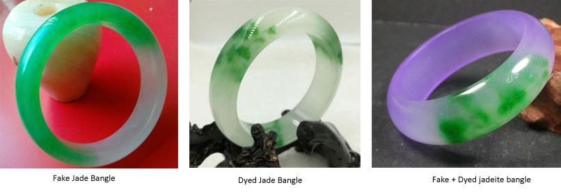 vòng cẩm thạch giả, vòng cẩm thạch nhuộm màu