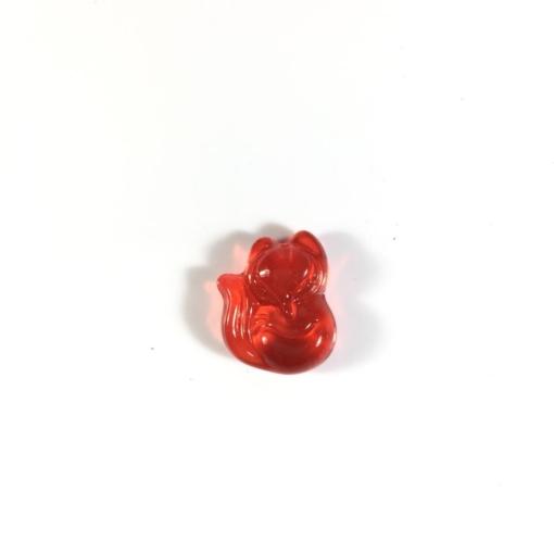Mặt dây chuyền Hồ Ly pha lê đỏ 1