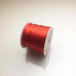 Cuộn dây xỏ hạt vòng màu đỏ