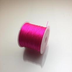 Cuộn dây xỏ hạt vòng màu hồng