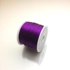 Cuộn dây xỏ hạt vòng màu tím