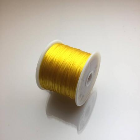 Cuộn dây xỏ hạt vòng màu vàng gold