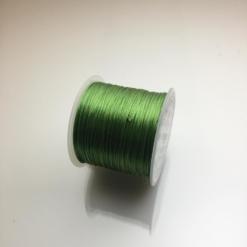Cuộn dây xỏ hạt vòng màu xanh lá cây