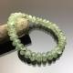 Vòng tay phong thủy đá Prehnite dẹt 10mm