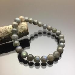 Vòng tay phong thủy đá Labradorite xà cừ 8mm