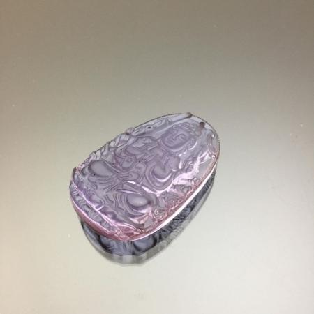 Mặt dây chuyền Quan Âm Thiên Thủ pha lê Amethyst