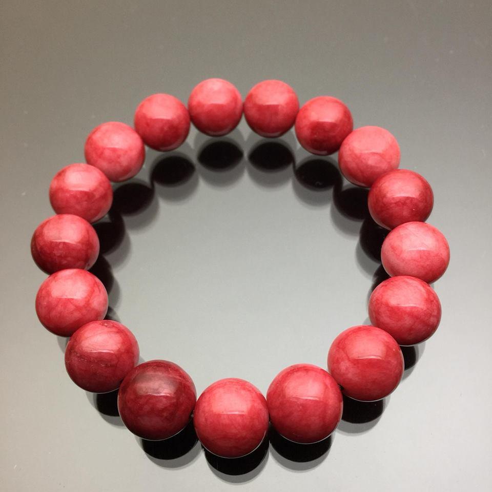 Vòng đá Jaspa đỏ 12mm