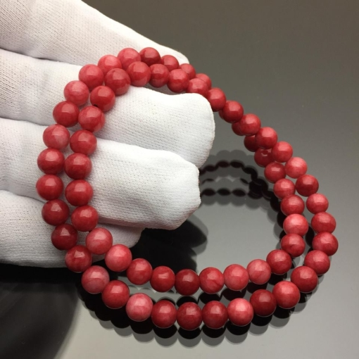 Vòng đá Jaspa đỏ 6mm