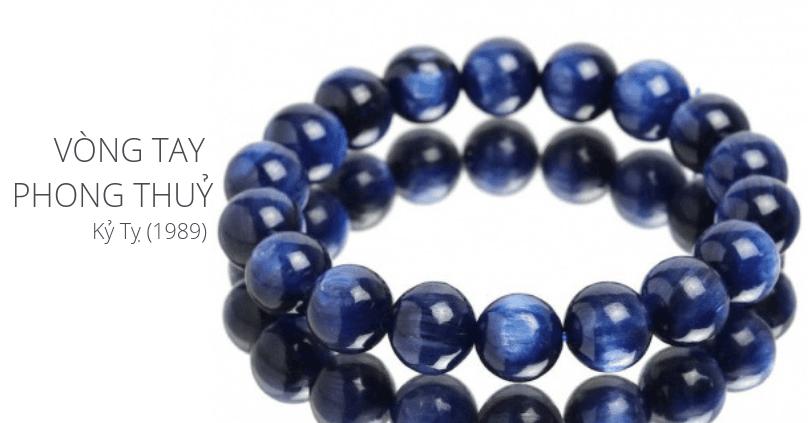 các mẫu vòng đá quý đẹp cho tuổi Kỷ Tỵ sinh năm 1989